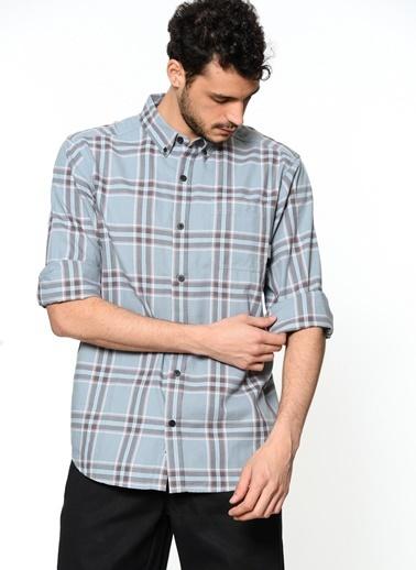 Kareli Uzun Kollu Gömlek-Columbia